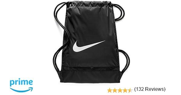 863612e457 Nike BA5338-010, Borsa Unisex Adulto, Black/White, 48.5 x 38 x 5 cm:  Amazon.it: Sport e tempo libero