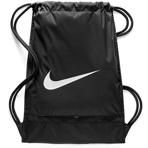 Bolsa de Cuerdas Nike Nk Brsla Gmsk , Hombre, Negro Black/White, Talla