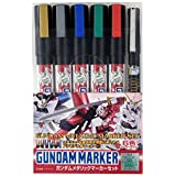 Gundam metallic marker set AMS121 [ Mobile Suit Gundam ]