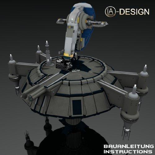 Preisvergleich Produktbild CUSTOM Bauanleitung Kamino Plattform + 2 Slave I 1 aus LEGO® Seinen für STAR WARSTM 8097 6209 Keine STEINE