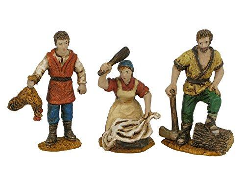 OLIVER 3 Figuras surt. 5 cm. durexina Blister