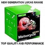 Lucas Motorrad Scooter Roller-Batterie Aprilia 12N14–3A ETX 250