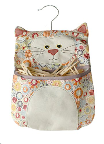 retro-vintage-style-cat-shape-clothes-peg-bag-with-clothes-line-hanging-hook-includes-50-quality-woo