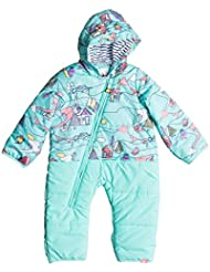 Roxy Jumpsuit Rose Little Miss de snow Suit for Baby (F), Otoño-invierno, mujer, color Azul claro, tamaño 2XL