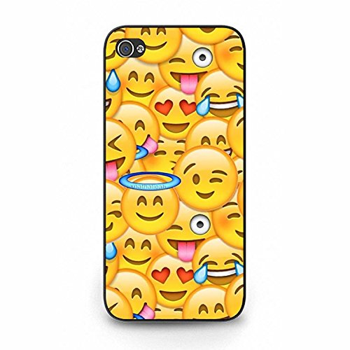 Emoji Iphone 5/5s Case Hart Eyes Love Emoji Phone Case Cover for Iphone 5/5s Emoticons Charming Color123d