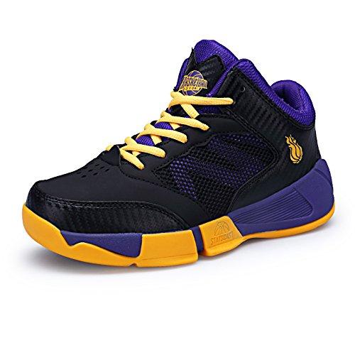 Jungen Basketball Schuhe Turnschuhe Kinder Sportschuhe Mädchen Laufschuhe Outdoor Sneaker