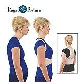 #10: Saiyam Royal Posture - Energizing Posture Support Align Your Spine Back Brace Support Garment Royal Posture Back Support Brace Bone Correction Care (M)