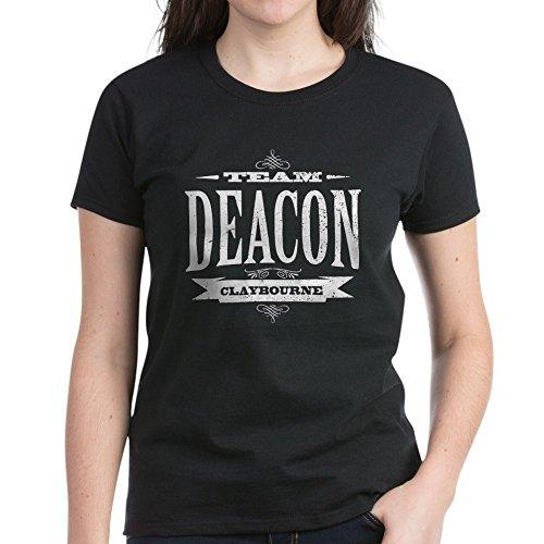 CafePress Team Deacon Claybourne - Womens Cotton T-Shirt