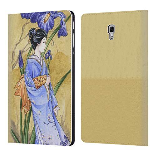 Head Case Designs Offizielle Meredith Dillman Iris Kimono Fantasy 2 Leder Brieftaschen Huelle kompatibel mit Samsung Galaxy Tab A 10.5 (2018) -