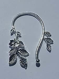 Tour d'oreille elfique fleur argenté kanelle-citron