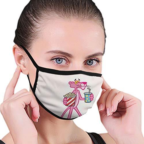 Pink Panther Staubdichte Wind-Mundmaske, modisch, für Herren und Damen, allgemeine Passform, für Outdoor-Sportarten
