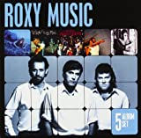 Roxy Music: 5 Album Set (Siren / Viva Roxy Music / Manifesto / Flesh And Blood / Heart Still Beating) (Audio CD)