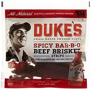 Duke's Jerky Steak Strips-Spicy Barbecue-3 oz by Dukes
