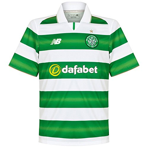 New Balance – Celtic Glasgow FC Away, Farbe White, Größe M (American Soccer League)