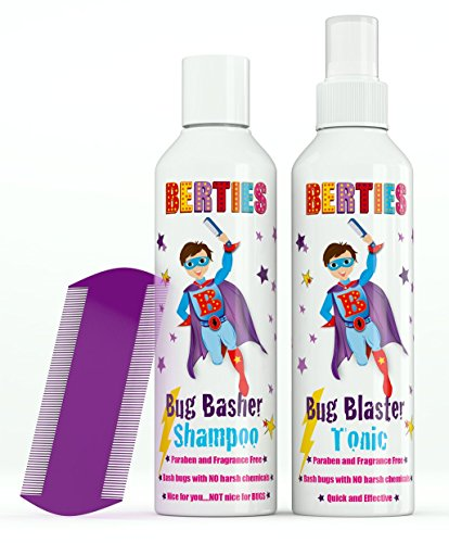 berties-bug-basher-natural-head-lice-tonic-and-shampoo-for-children-head-lice-comb-included