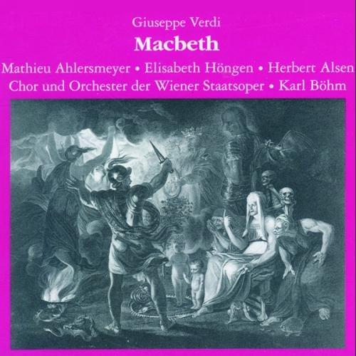 Verdi : Macbeth (Dt.) 1943. Böhm, Höngen, Ahlersmeyer, Alsen, Witt.