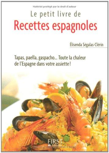 PT LIV RECET ESPAGN TAPAS PAEL par ELISENDA SEGALAS-CLERIN