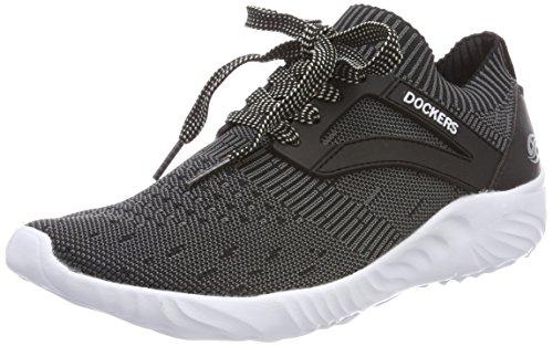 Dockers by Gerli Unisex-Kinder 42SW602-700100 Sneaker, Schwarz (Schwarz 100), 39 EU