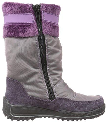 Ricosta Ranki, Bottes de neige de hauteur moyenne, doublure chaude fille Violet (amethyst/purple 369)