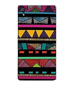 Snapdilla Designer Back Case Cover for Sony Xperia M4 Aqua :: Sony Xperia M4 Aqua Dual (Texture Illustration Background Backcase Pouch Graphics)
