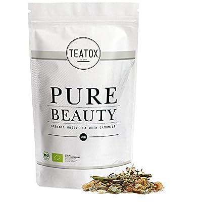 TEATOX Pure Beauty, thé blanc avec camomille
