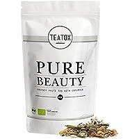 TEATOX Pure Beauty, Té blanco orgánico con hierbas (Bolsa de Recarga)