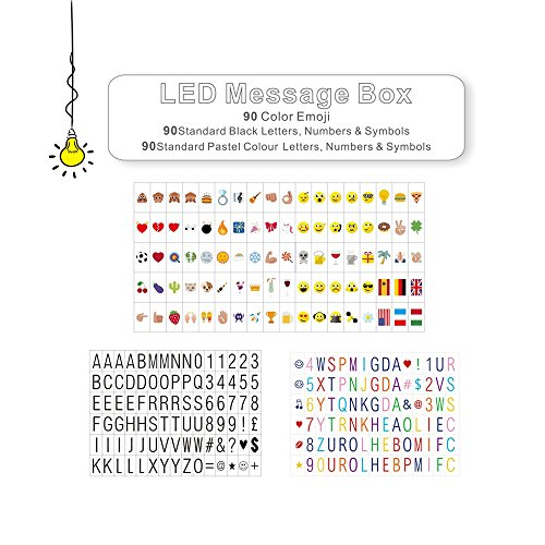 litenergy-cinema-sign-incluyendo-270-cartas-negras-letras-en-color-pastel-pastel-color-emojis-y-simb