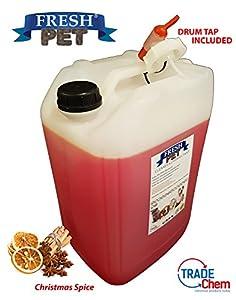 25L Fresh Pour Animal domestique chenil Chien/Chat Désinfectant, Aspirateur, Désodorisant