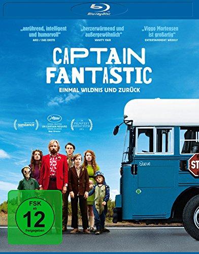 Bild von Captain Fantastic - Einmal Wildnis und zurück [Blu-ray]