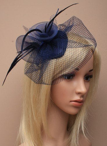 allsorts-navy-feather-net-clip-hat-fascinator-wedding-ladies-day-race-royal-ascot-by-allsorts