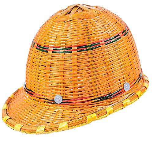WEN Bambus geflochtener Helm Baustelle Sommersonnenschutz Sonnenschutz Hut atmungsaktiv mehrere Schutzhelm Hardhats -
