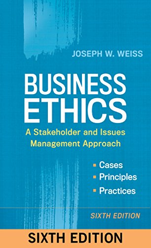 Business Ethics: A Stakeholder and Issues Management
