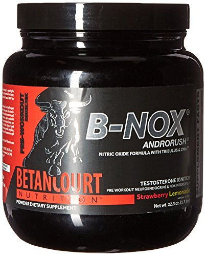 Betancourt Nutrition - B-Nox Pre Workout Drink Mix, Strawberry Lemonade 35 servings,...