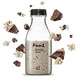 Feed. - Bouteille Chocolat - Repas complet, pratique à emporter partout - 100% Vegan - Sans Gluten - Sans lactose - Sans OGM - 150g