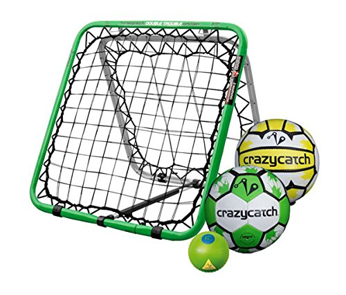 Crazy Catch Upstart DT Multisport - with 3 balls! (Netball/Football/Vision Ball) - 79x79cm Test