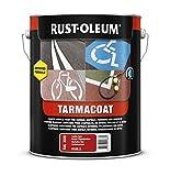 Rust-oleum 6186.5tarmacoat, suelo de múltiples superficies pintura que se seca en 1hora, tamaño mediano grey-ral 7005