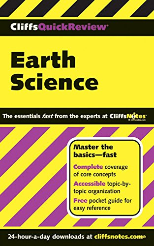 Earth Science (Cliffs Quick Review) by Scott Ryan (12-May-2006) Paperback
