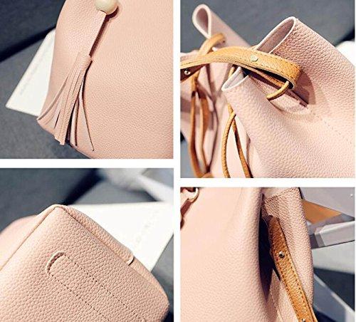 Neue Beutel Koffer Koffer Schulter Messenger Bag Pink