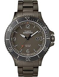 Timex TW4B10800 - Orologio da uomo con movimento al quarzo, quadrante analogico classico e cinturino in acciaio inox
