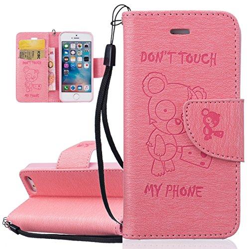 custodia iphone 5s supporto stand e porta carte integrati portafoglio