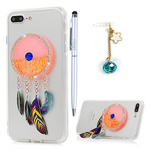 8fa667aff9f Cover iPhone 7 Plus Glitter Brillanti QuickSand Brillantini - MAXFE.CO  iPhone 8 Plus Custodia