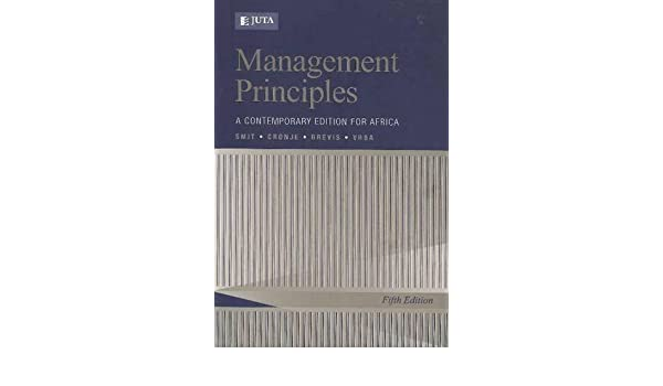 Contemporary Management Principles Brevis T Pdf