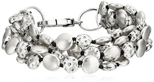 lucky-brand-moneta-argento-braccialetto-191-cm