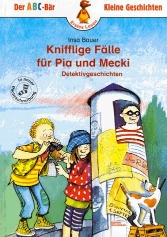 Cover des Mediums: Knifflige Fälle für Pia und Mecki