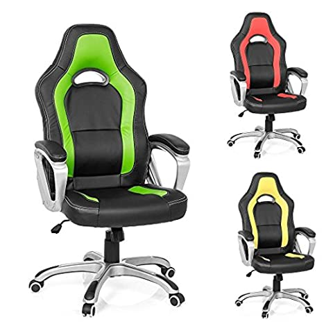 Santana Sports Chair, Executive Office Chair, Desk Chair, Ergonomic Swivel Study Computer Gaming Chair