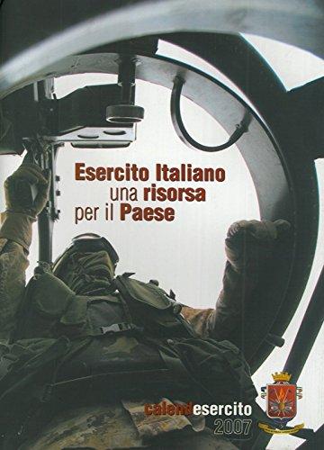 Calendario dell'Esercito Italiano 2007, 2009.