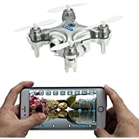 Price comparsion for AICase® CX-10WD-TX Cheerson Edition with Remote Control 4CH 2.4GHz 6 Axis Gyro FPV Wifi Remote Control RC Real-time Video Fixed-height Mini Drone Aerial Quadcopter
