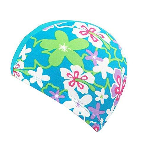 Cuffia piscina , bambini cuffia nuoto per la cura dei capelli e della protezione dell'orecchio