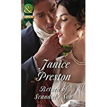 Return Of Scandal's Son (Mills & Boon Historical) (Men About Town, Book 1)