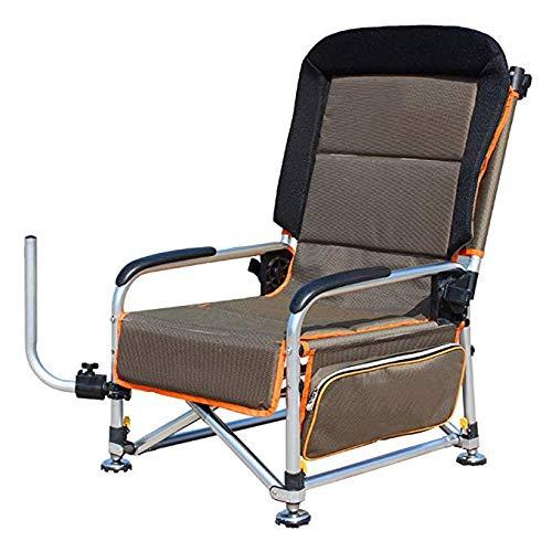Hxx Camping & Wandern Angeln Stuhl Multifunktionale Tragbare Klappstuhl Liegestuhl Camping Stuhl Kann Flach Sitzen und Flach Liegen im Winter und Sommer Last 200 kg,A -